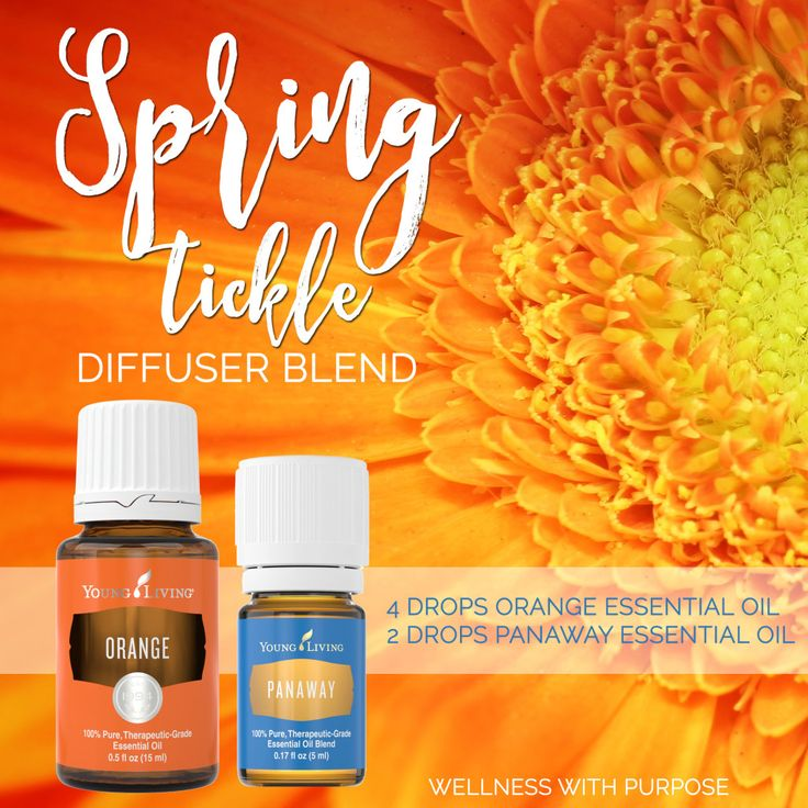 PanAway and Orange to diffuse