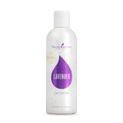 Lavender Shampoo gently cleanses and nourishes